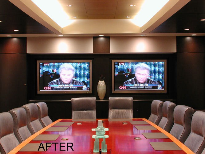 Boardroom after